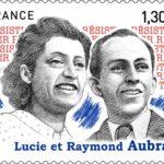 Le timbre Lucie et Raymond Aubrac