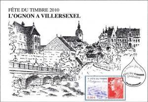 La fête du timbre 2010, à Villersexel